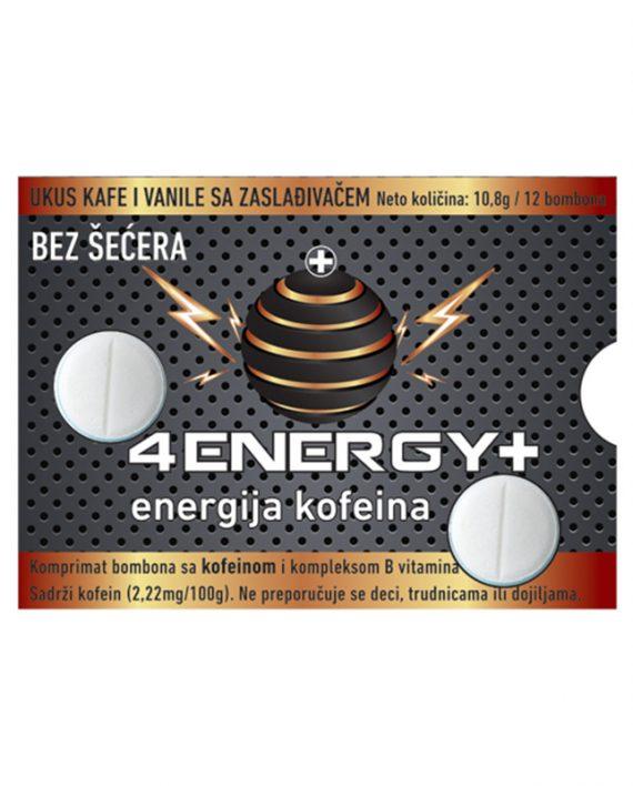 4ENERGY+(ukus kafe i vanile) 12 bombona