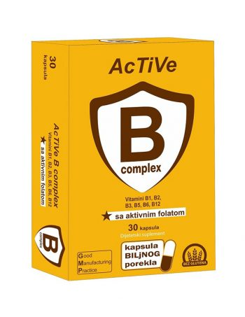 Active B complex float kaps 30