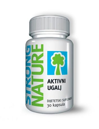 Aktivni ugalj Strong Nature 30 kapsula