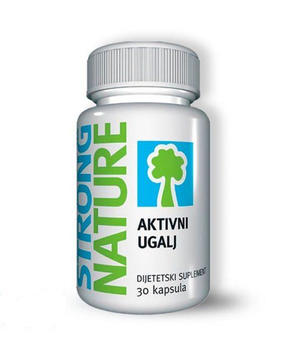 Aktivni ugalj Strong Nature 30 kapsula