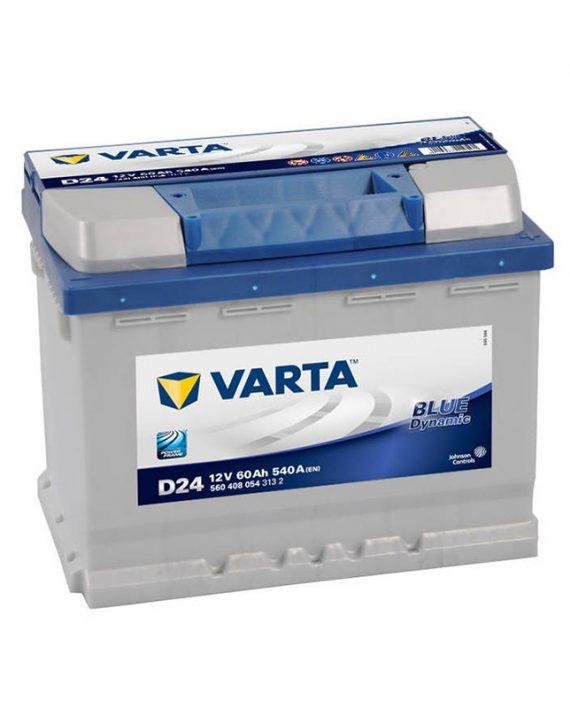 Akumulator Varta blue 60Ah +D