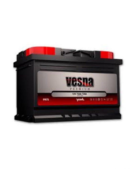 Akumulator Vesna premium 66Ah +D