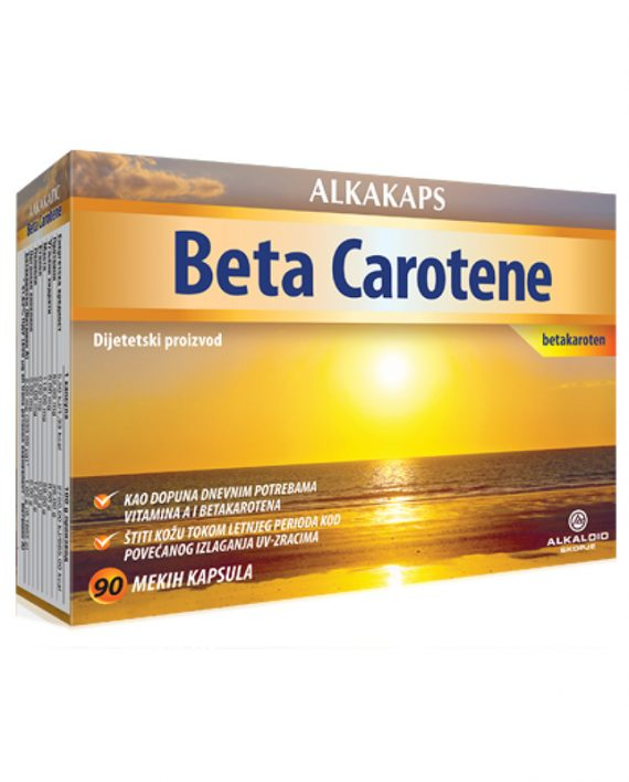Alkakaps BETA CAROTEN 90x6.67mg