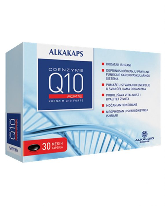 Alkakaps COENZYME Q10 FORTE 30x30mg