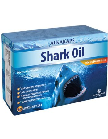Alkakaps SHARK OIL kaps 30x500mg