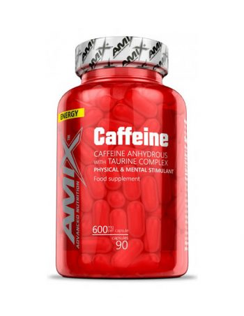 Amix® – Caffeine 200mg with Taurine 90cps