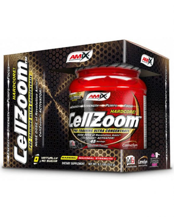 Amix® – CellZoom® Hardcore Activator 315g lemon lime