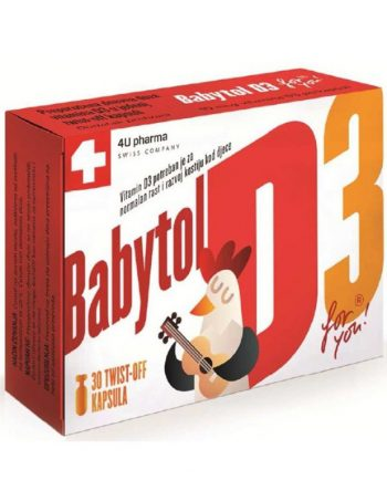 BABYTOL D3, 30 twist-off kapsula