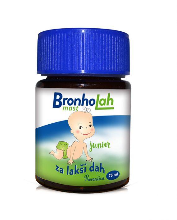 Bronholah junior mast, 75 ml