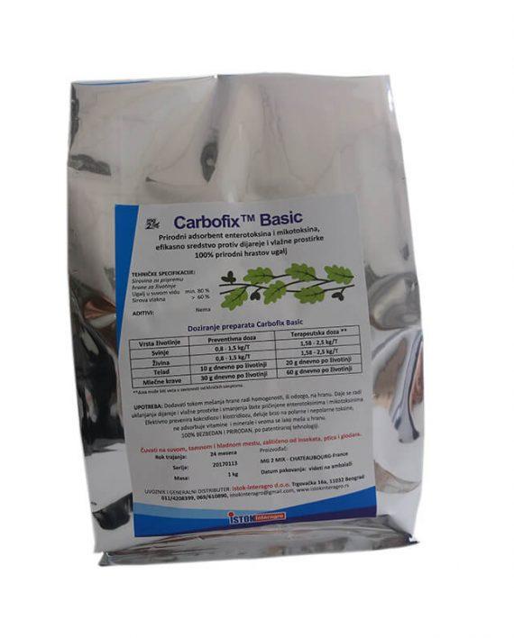 Carbofix – sredstvo protiv diareje, absorbent patogenih bakterija, toksina i mikotoksina hrane