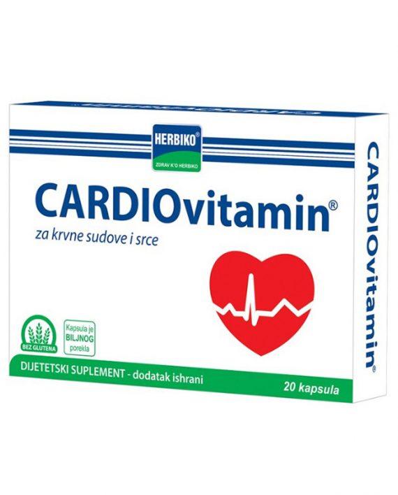 Cardiovitamin 20 kapsula Vitamini za srce i krvne sudove