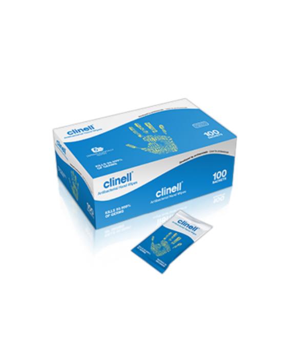 Clinell antibakterijske maramice za ruke 100 kom