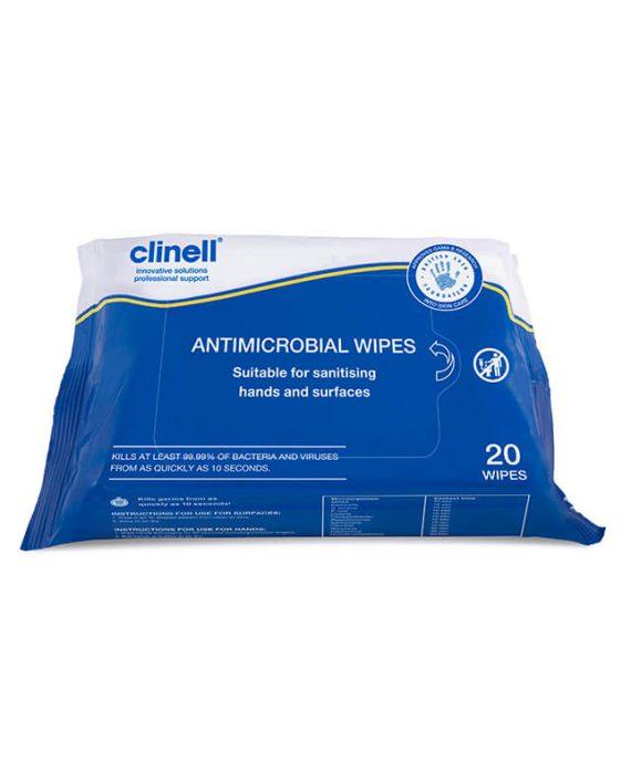 Clinell antimikrobne viesnamenske maramice ( za dezinfekciju ruku i povrsina)