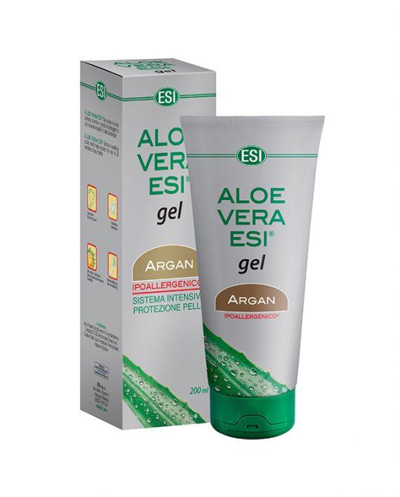 ESI Aloe vera gel +Argan , 200 ml