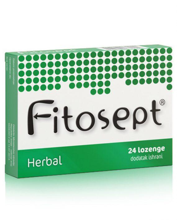 Fitosept HERBAL lozenge