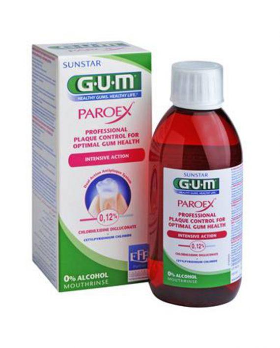 Gum paroex 300 ml vodica za usta 0,12 chx