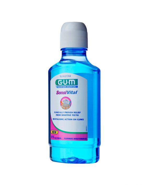 Gum sensivital 300 ml vodica za ispiranje usta
