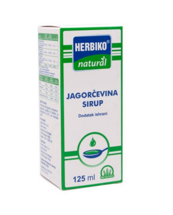 HERBIKO SIRUP JAGOCEVINA 125ML