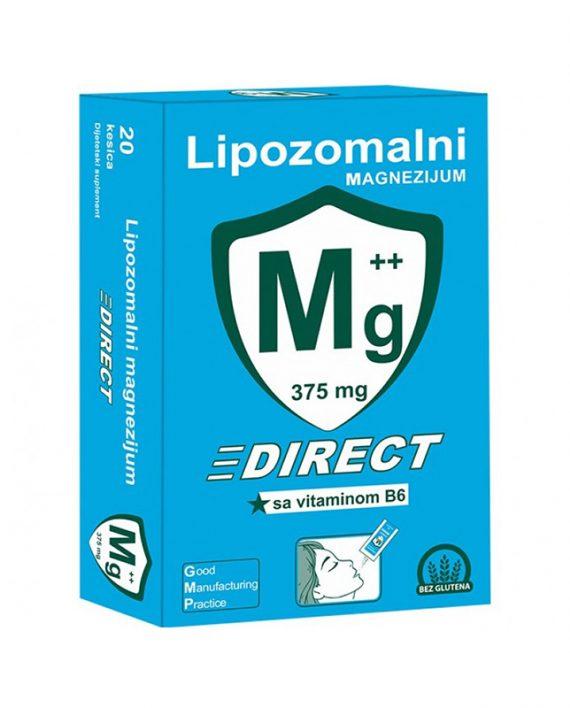 LIPOZOMALNI MG DIREKT+B6 20 kesica