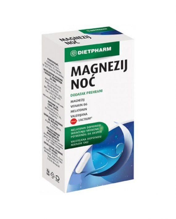 Magnezij noć 10 kapsula