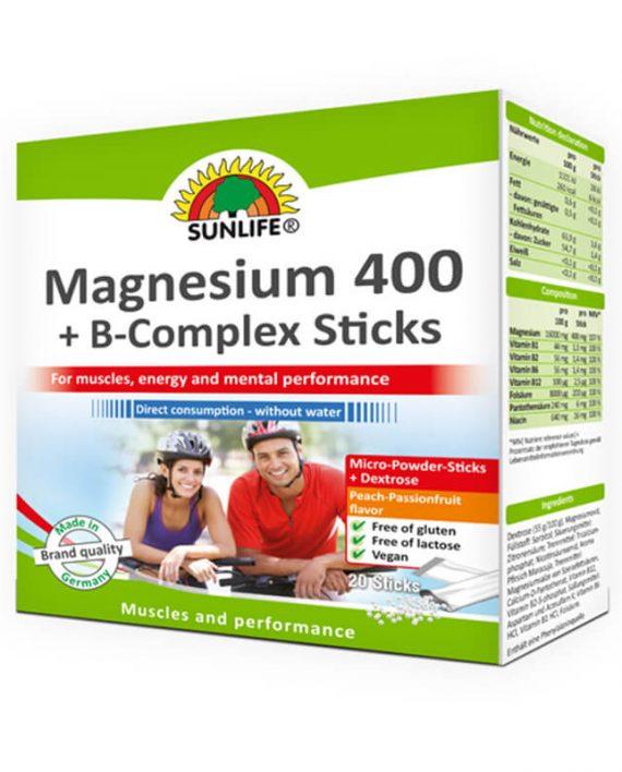Magnezijum Direkt 400 + B Kompleks