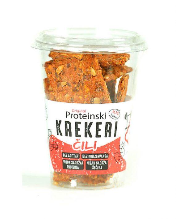 Original proteinski krekeri Chili 100g
