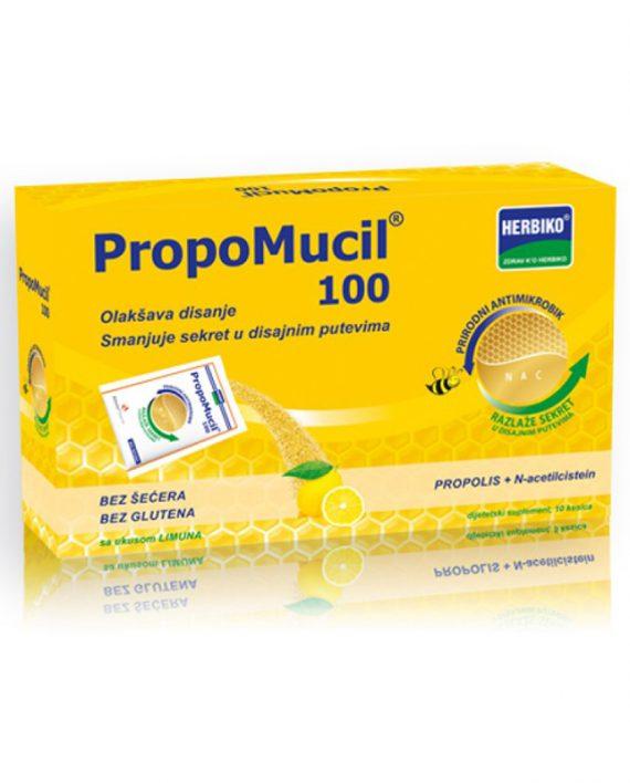 PROPOMUCIL 100 10kesica