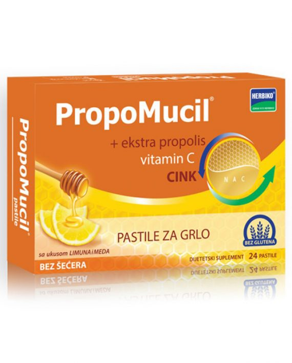PROPOMUCIL 24 pastile