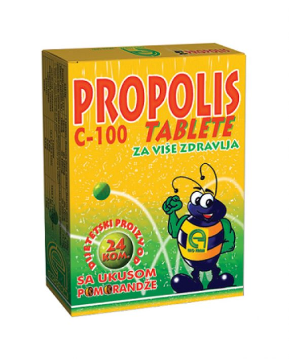 Propolis C-100 vitamin 24 tablete