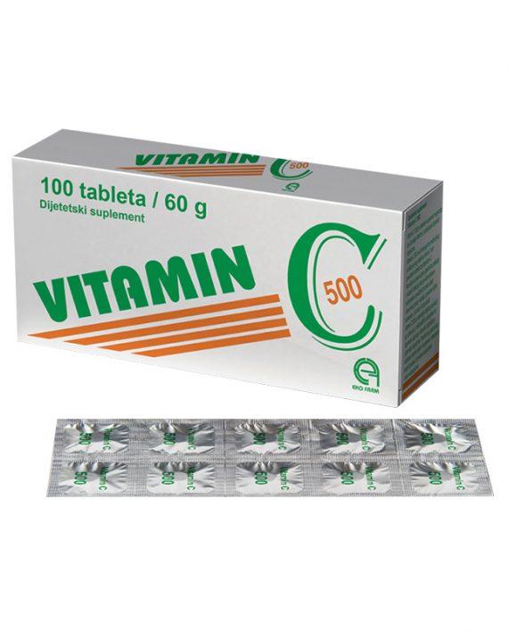 Vitamin C tablete 500MG