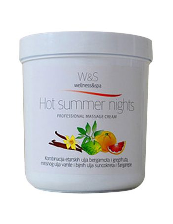 W&S profesionalne kreme za masazu Hot summer nights1