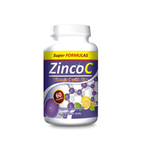Zinco C (vitamin C 300mg + zinc caps 60ct)